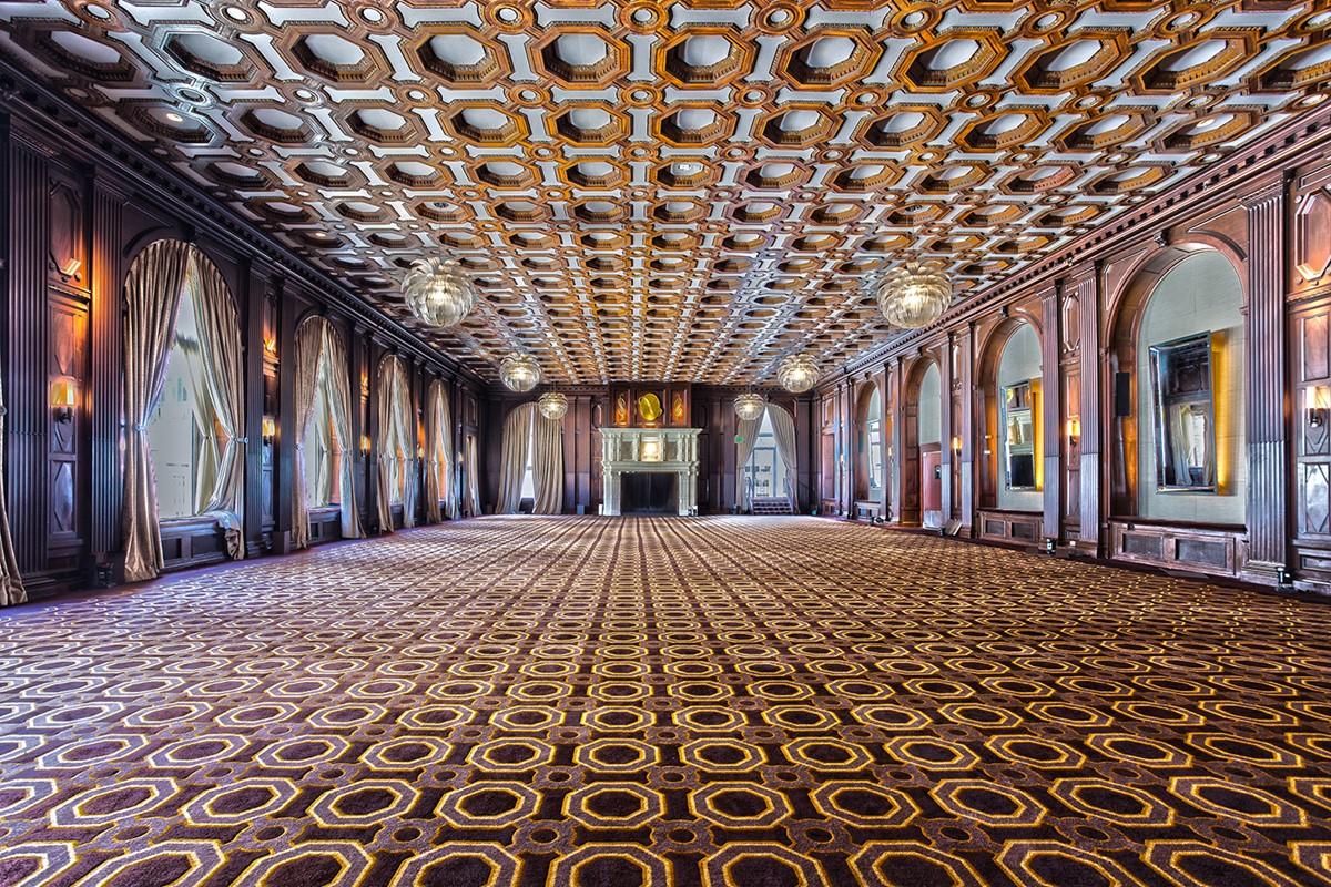 The Julia Morgan Ballroom meeting rooms