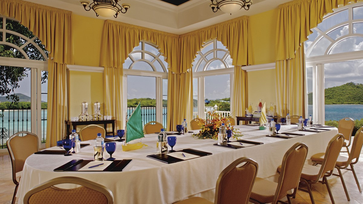 The Ritz-Carlton, St Thomas meeting rooms