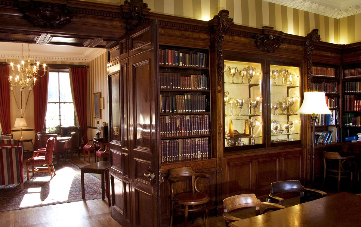 Meeting rooms at the royal scots club the royal scots for Interior design edinburgh