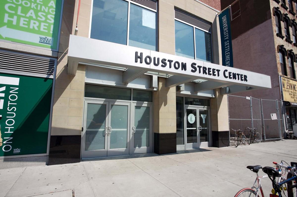 University Settlement at the Houston Street Center meeting rooms
