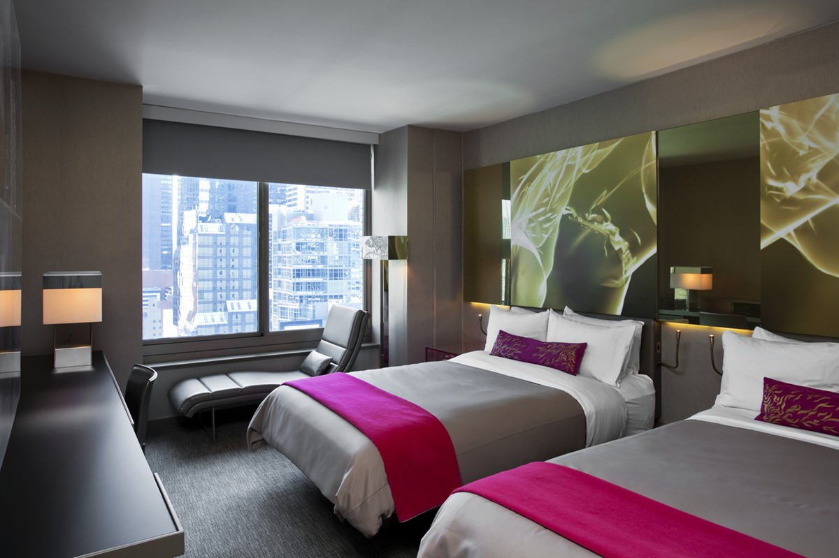 Meeting Rooms At W New York Times Square 1567 Broadway NY United States