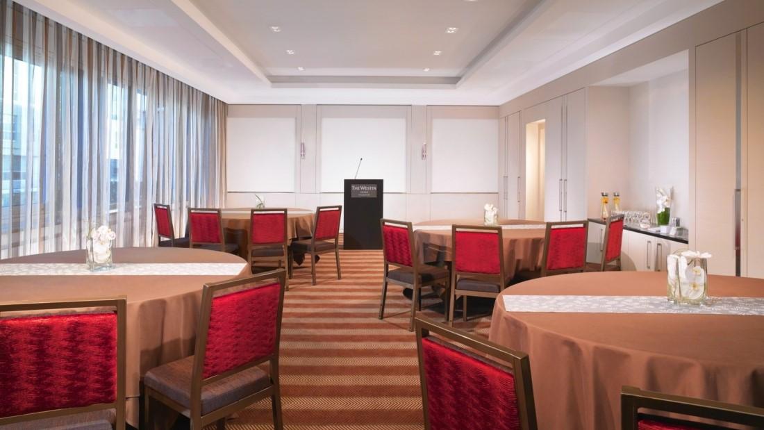 Meeting Rooms at Westin Grand Frankfurt, Konrad-Adenauer-Straße 7, Frankfurt, Germany