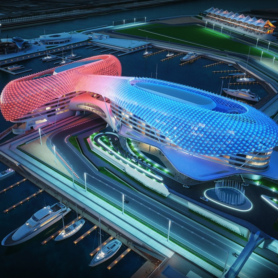 Meeting Rooms At Yas Marina Circuit Yas Marina Yas Island Abu Dhabi United Arab Emirates