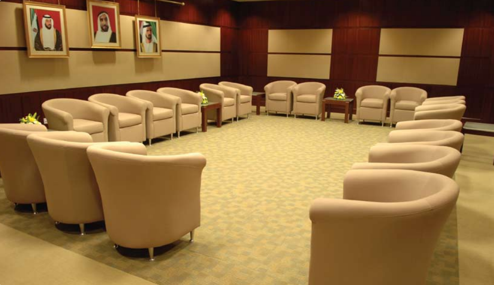 Meeting Rooms At Zayed University Convention Center Zayed