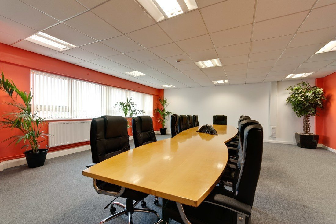 Meeting Rooms At Anfield Business Centre Anfield Business Centre - 16 person conference table