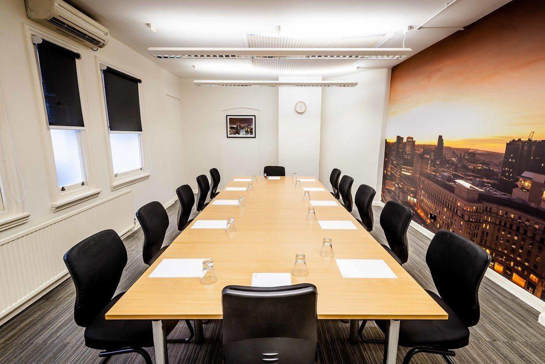 Cornwall Buildings (Bruntwood) meeting rooms