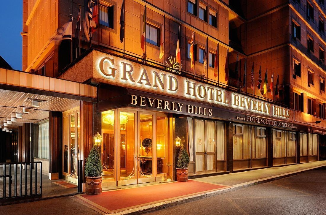 Hotel Beverly Hills Rome meeting rooms