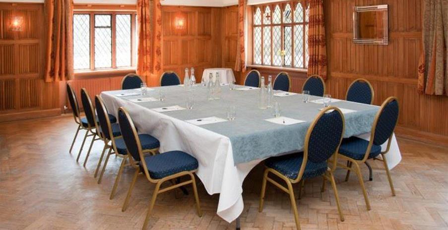 Great Hallingbury Manor Hotel meeting rooms