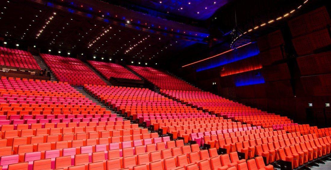 Meeting rooms at le palais des congres de paris 2 place for Porte maillot