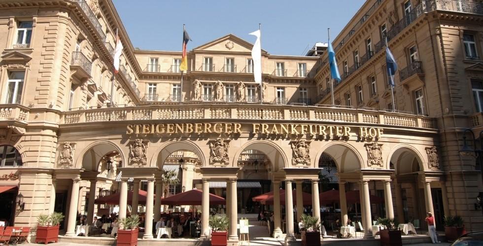 Steigenberger Frankfurter Hof meeting rooms