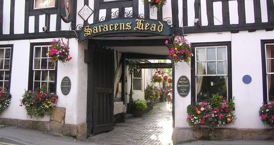 The Saracens Head Hotel meeting rooms