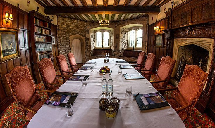 Meeting Rooms At Thornbury Castle Thornbury Castle Hotel